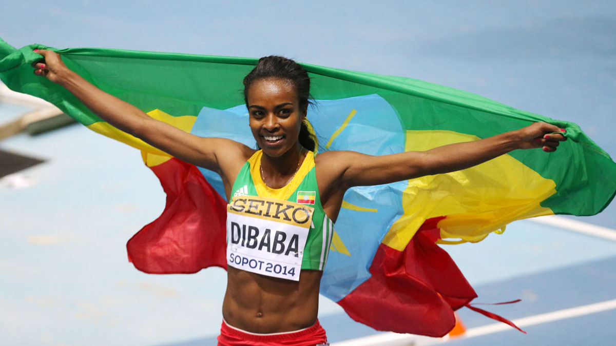 2015 Laureus Sportswoman of the Year - Genzebe Dibaba