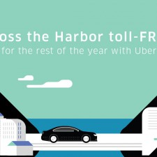 Uber Hong Kong: FREETOLL2016